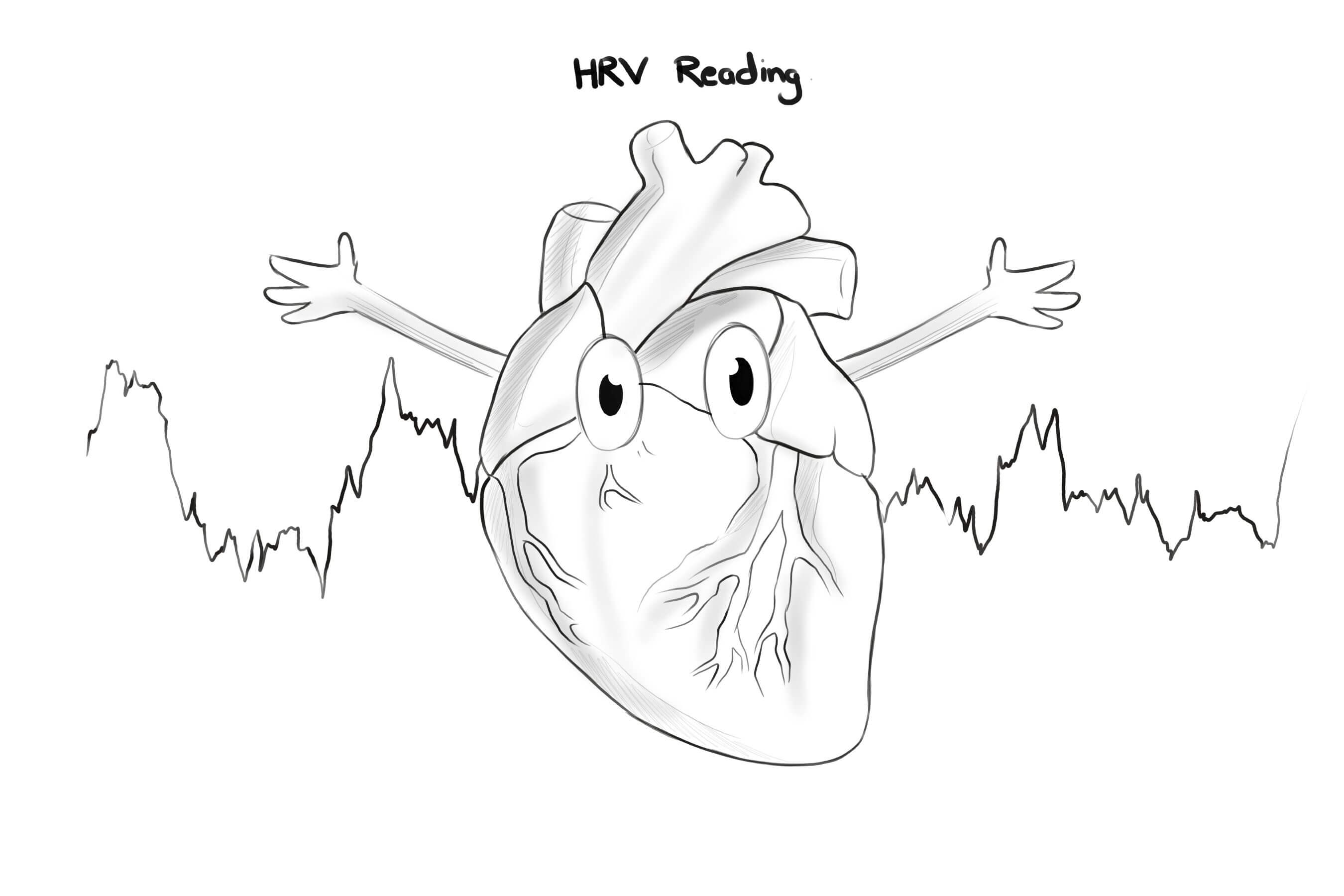HRV READING: WAVE AND HEART