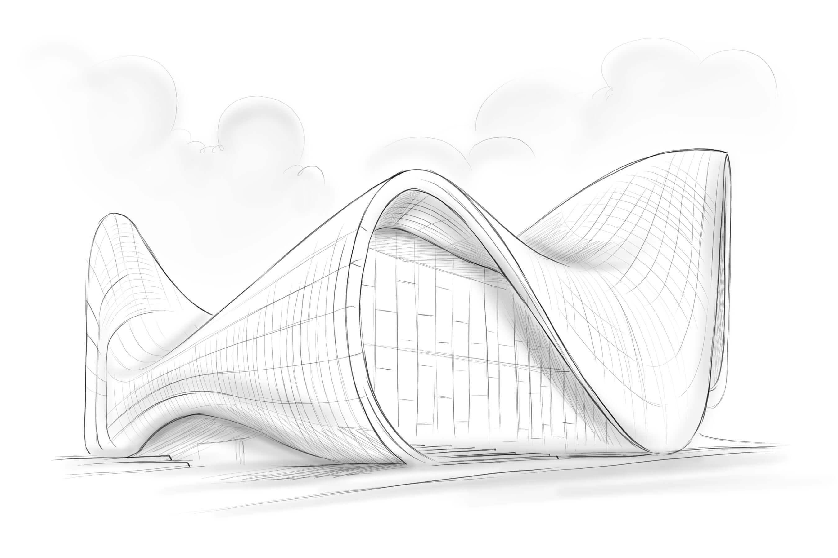 ZAHA HADID'S BUILDING DESIGN: DUBAI OPERA